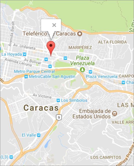 Mapa de ubicación FCCPV